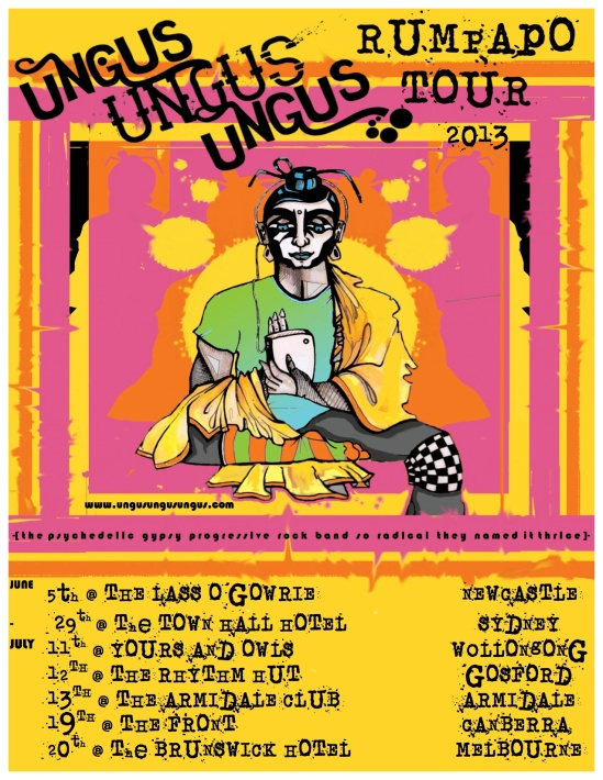 rumpapo tour poster