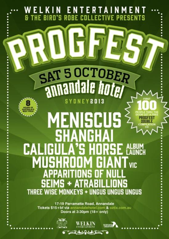 Progfest Flyer