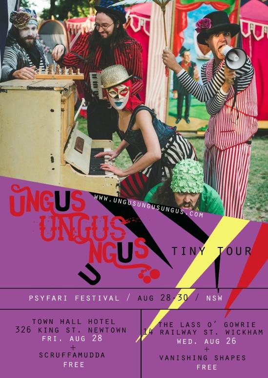 ungus tinytour poster aug2015